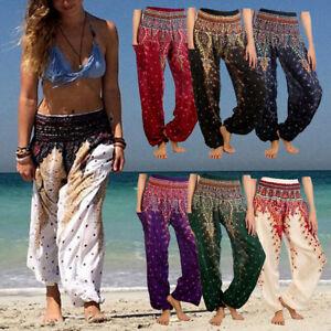 Thai Women Yoga Pants Harem Trousers Festival Baggy Leggings Hippie Boho Alibaba