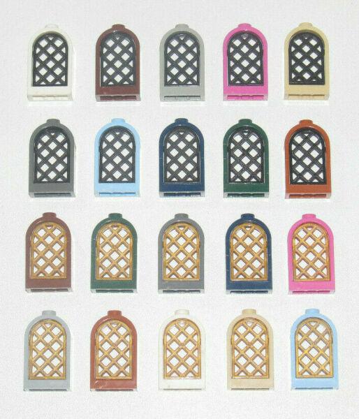 Lego ® Fenêtre à Barreaux Navire Chateau Ship Windows Choose Color 30044 + 30046