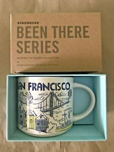 Starbucks Coffee Been There Series 14oz Mug SAN FRANCISCO California Cup w/SKU