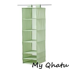 Elegant Item 3 IKEA SKUBB ORGANIZER 6 STORAGE COMPARTMENTS HANGING LIGHT GREEN  CLOSET NEW  IKEA SKUBB ORGANIZER 6 STORAGE COMPARTMENTS HANGING LIGHT GREEN  CLOSET ...
