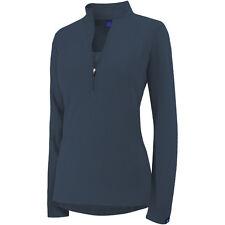 Irideon Chinchillaaah Half Zip Shirt-Navy-XL