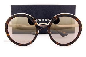 994c959940cf Brand New Prada Sunglasses PR 50TS 2AU 6O0 Havana Gold Gold Mirror ...