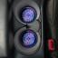 Scared EyeRubber Car CoastersSet of 2