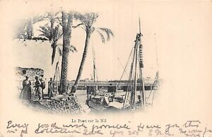 POSTCARD-EGYPT-The-Bridge-on-the-Nile