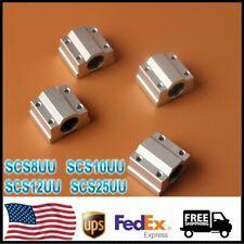 4pcs Scs8uu 101225uu 8mm Linear Motion Ball Bearing Slide Bushingfor3d Printer