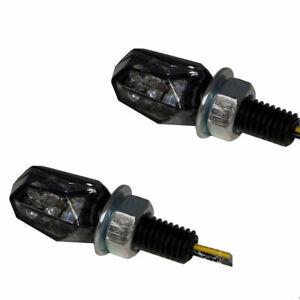 LED-MINI-MICRO-BLINKER-TINY-MOTORRAD-QUAD-ATV-CUSTOM-SCHWARZ-SMOKE-GETONT