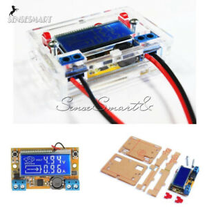 DC-DC-Step-down-Power-Supply-Module-Adjustable-Voltage-Current-LCD-Display-Shell
