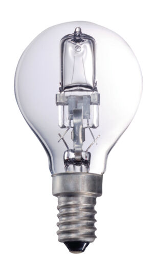Ex-Pro Halogen Bulb lamp ball E14 18w 205 Lumen 2800K 25w Equivalent Dimmable