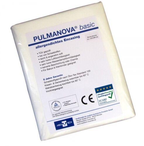 Pulmanova Basic colchones referencia 100x200x20 allergikerbettwäsche alergia Encasing