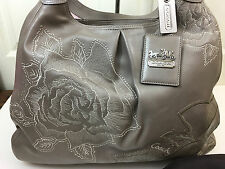 COACH MADISON FLORAL EMBROIDERED XL MAGGIE 15052 ~ CHINESE COMMEMORATIVE LE BAG