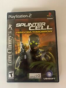Splinter Cell Play Station 2 Game Used A07