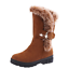 Women-039-s-Snow-Boots-Winter-Shoes-Warm-Fur-Lining-Mid-Calf-Flats-Buckle-Booties-US thumbnail 20