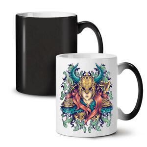 Woman Warrior NEW Colour Changing Tea Coffee Mug 11 oz | Wellcoda