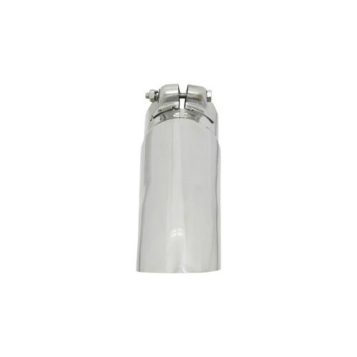 """Flowmaster 15379 Polished Stainless Turndown Tip 2.75/"""" OD Fits 2.5/"""" Clamp-On"""