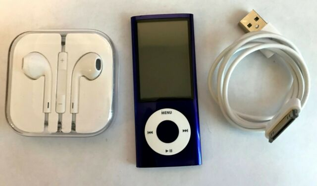 Apple iPod Nano 5th Generation Purple 8GB w/ Camera Model A1320