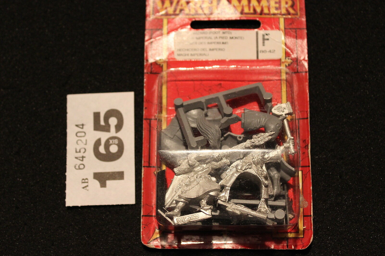 Games Workshop Warhammer The Empire Wizard Foot and Mounted Metal Fantasy OOP