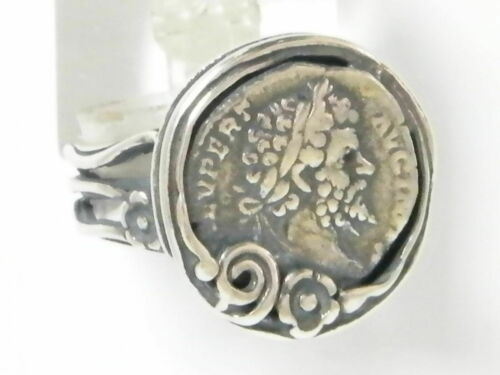 Nouveau shablool Israël Ring 925 Sterling Silver Coin Jewelry Women Lady
