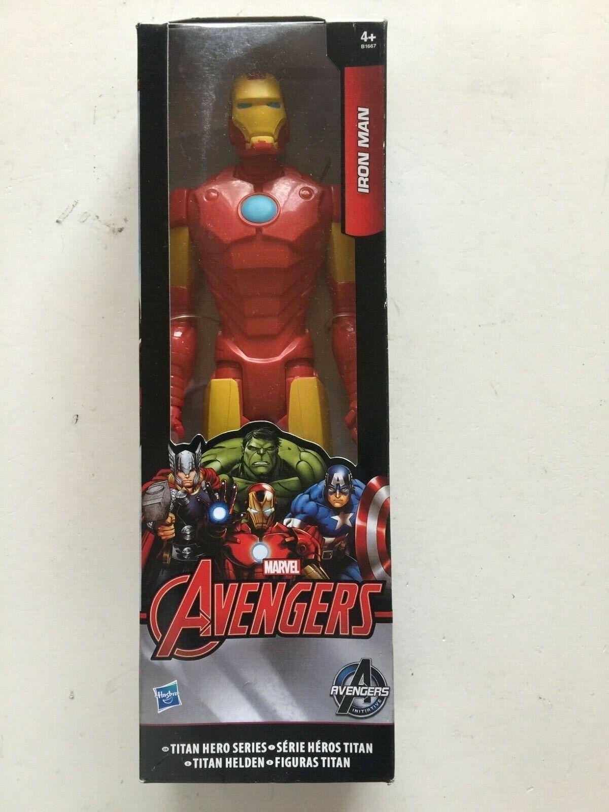 Marvel avengers Titan Hero Series Iron Man Figurine Hasbro B1667 BRAND NEW