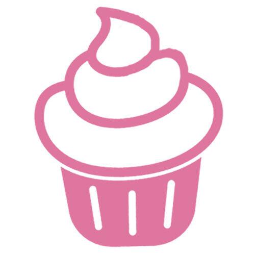 5x4 cm 37x30 cm Sticker kitchen cake cupcake frosting simple dessert