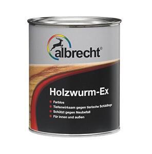 Albrecht Holzwurm Ex 375ml 45 20 L Oder 750ml 26 60 L Holzschutz