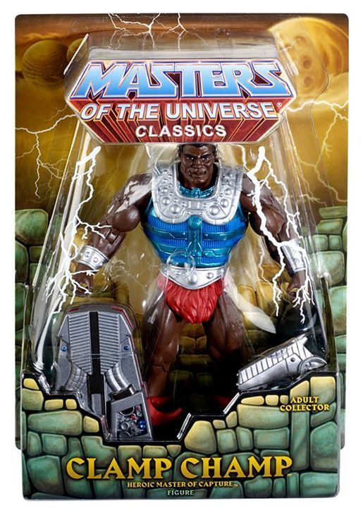 Clamp Champ Exclusivo Masters Of The Universe Classics He-Man Moc Nuevo Emb.orig