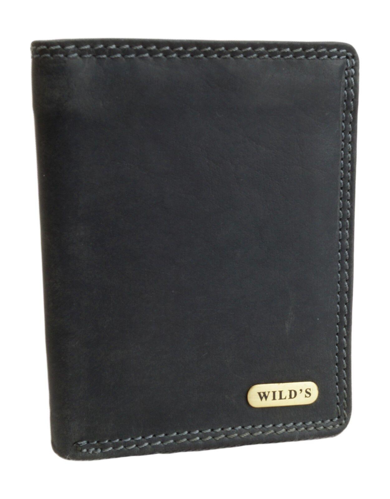 * Mens Wallet Wild's Biker Purse Small Wallet Wallet Black 1599 *
