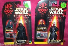 Star Wars Episode I 2-Obi Wan Kenobi (Jedi Knight) and Naboo) w/ Comm Chips