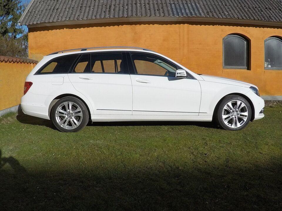 Mercedes C220 2,2 CDi Avantgarde stc. BE Van Diesel modelår