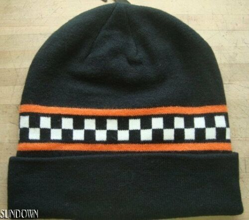 2 of 3 Nwt Vans Checker Otw Adult Unisex Black Knit Beanie Winter Hat Cap  New eafa0d02842