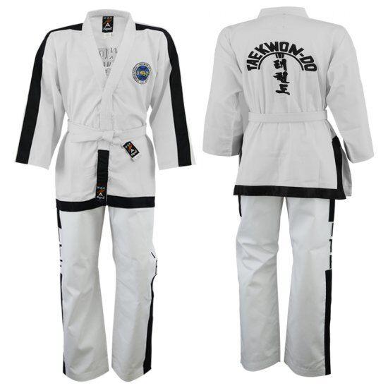 Playwell Itf Masters Cintura Nera Uniforme Arti Marziali Gi Tute Taekwondo Tkd