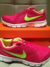 e38baa619b29 item 1 NEW IN BOX YOUTH GIRLS NIKE FLEX EXPERIENCE GS PINK VOLT WHITE 5Y  599344-636 -NEW IN BOX YOUTH GIRLS NIKE FLEX EXPERIENCE GS PINK VOLT WHITE  5Y ...