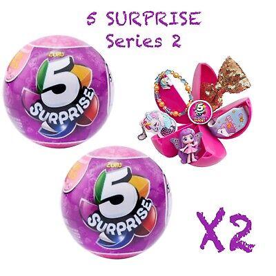 2-5 Überraschung! Rosa Serie 2 * Zuru Bälle 100% Real Authentic - Neu