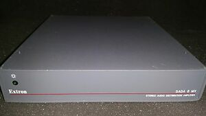 EXTRON SADA 6 MX STEREO AUDIO DISTRIBUTION AMPLIFIER
