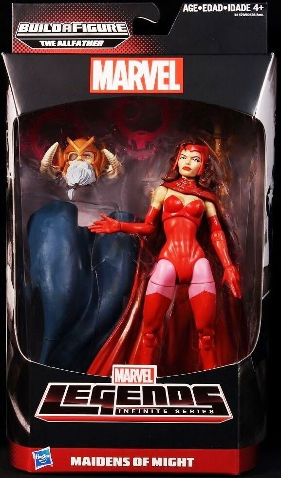 Marvel Legends SCARLET WITCH (New) (New) (New) All-Father Maidens of Might Mint Avengers MIB 151f79