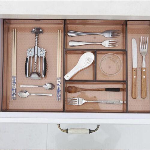 Besteckkasten Schubladen-Organizer Küchenorganizer aus Kunststoff