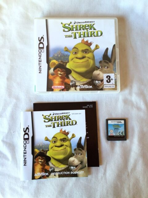 Shrek The Third (Nintendo DS, 2007) Wireless Play Instruction Booklet Included