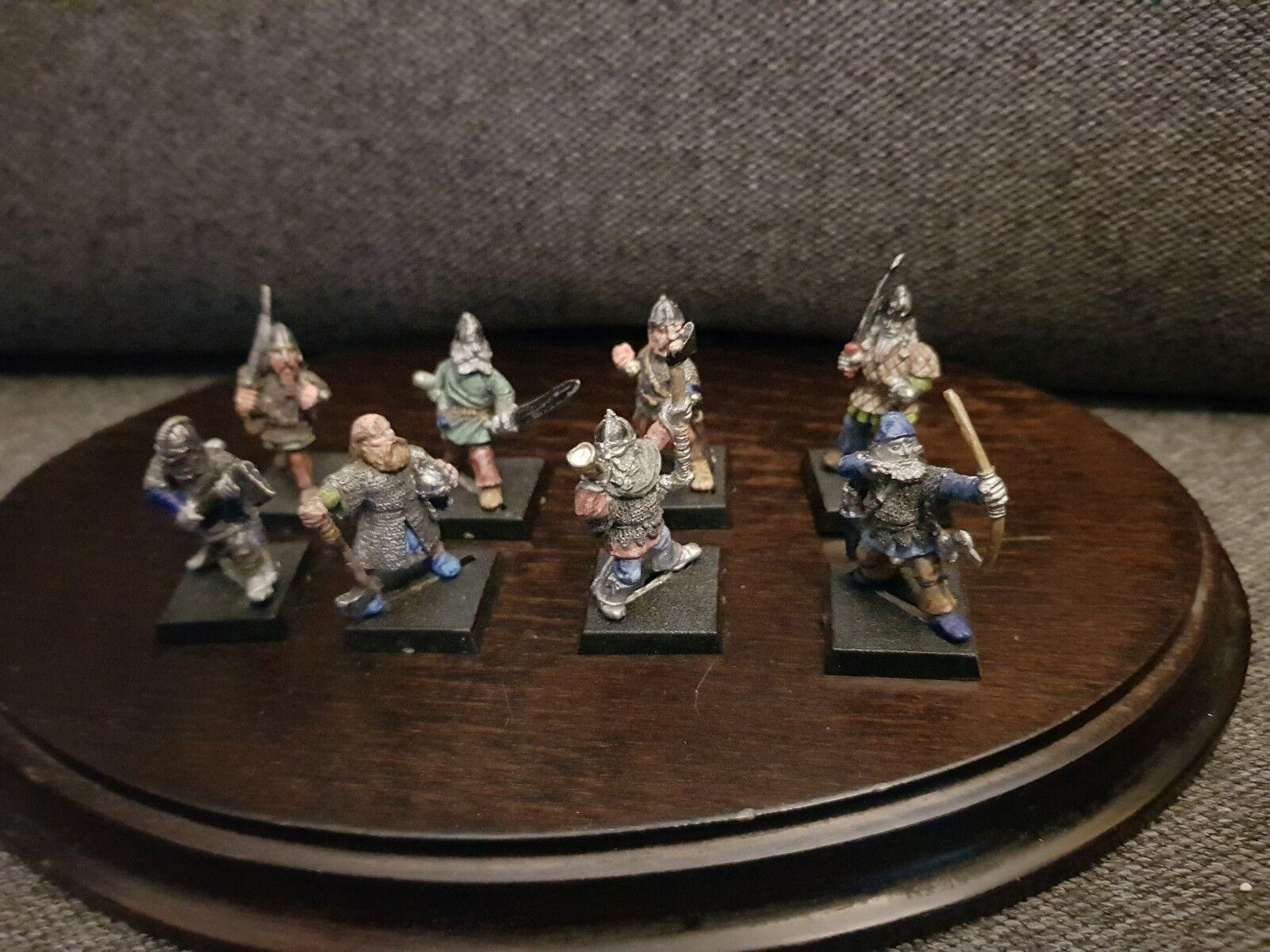 Games Workshop Warhammer Rare Épuisé 1985 Norse Viking Men at Arms Huscarls