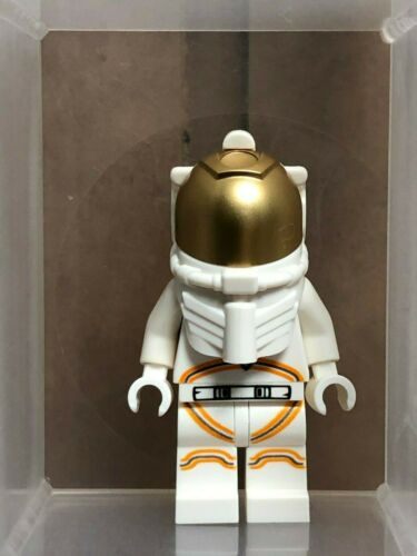 QTY 1 LEGO Minifigure No cty1027 Astronaut Male White Spacesuit