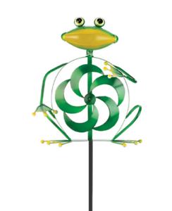 Frog Metal Wind Spinner