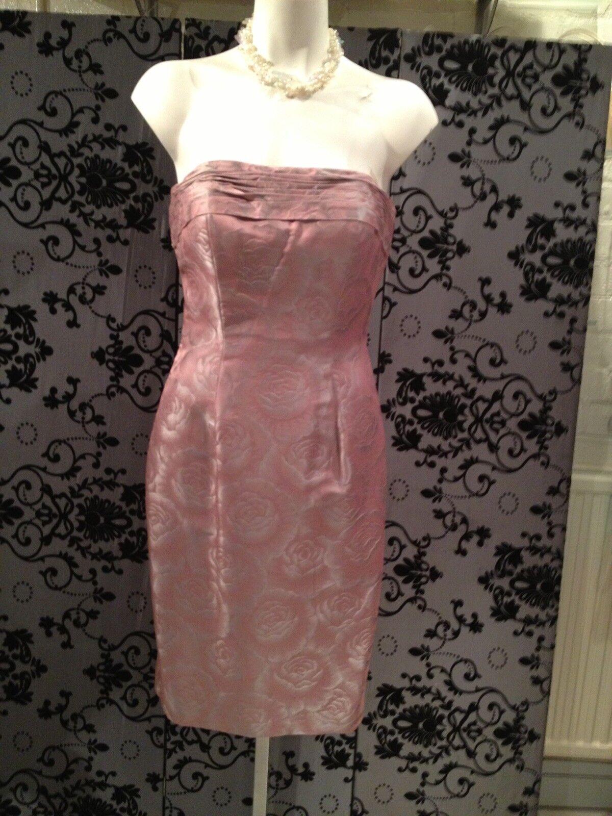Ian Stuart size 10 NEW dress with long jacket