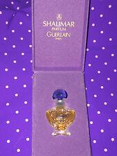 GUERLAIN SHALIMAR PARFUM EXTRAIT 2 ML 1995 VINTAGE MIGNON COLLEZIONE ESTRATTO