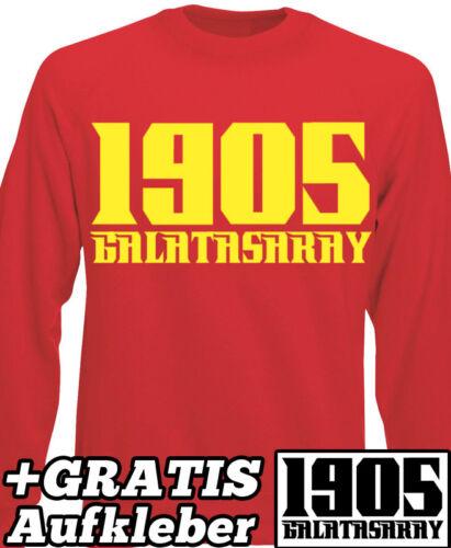 GALATASARAY ISTANBUL 1905 T-SHIRT KAPUZEN PULLOVER ULTRASLAN Türkei Türkiye X0X