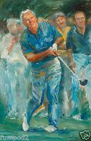 Arnold Palmer Poster/ Print/ Golf Poster/arnold Palmer Illustration 11x17 Inch