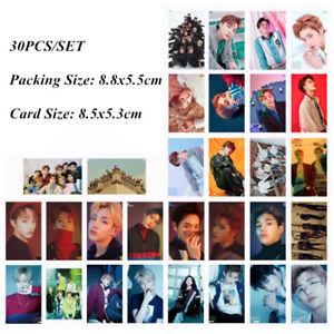 Details about 30pcs /set KPOP NCT127 NCT U Photo Card Poster Lomo Cards  Surprise Gift