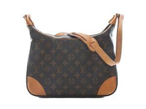 f54154c1aa6a Image is loading Authentic-Louis-Vuitton-monogram-canvas-Boulogne-30- shoulder-