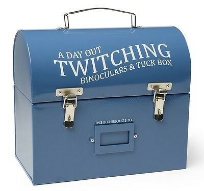 Burgon & Ball Garden Bird Watching Fishing Tackle Tuck & Tool Tin Tins Box Boxes