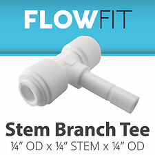 "Express Water Stem Branch Tee 1/4"" Fitting Connection Water Filters / RO Systems"