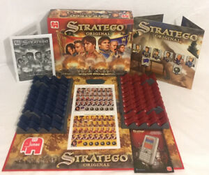 Stratego-Original-Board-Game-Jumbo-100-Complete-Unused-Contents