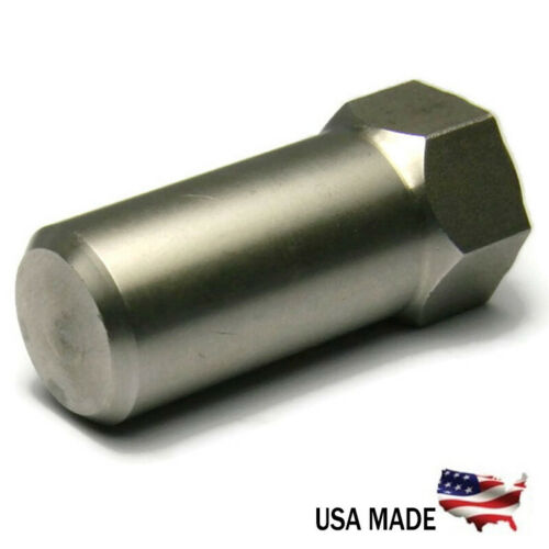 All Sizes+Qtys Extra Tall Flat Cap Acorn Hex Nuts 18-8 Stainless Steel USA