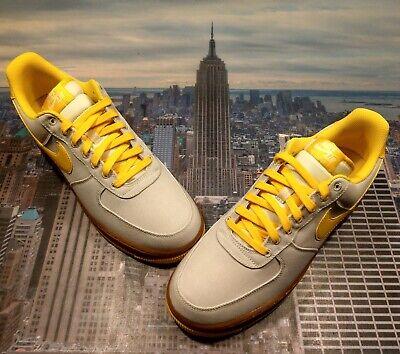 Nike Air Force 1 Low '07 TXT Textile Light BoneTour Yellow Size 12 AJ7282 002 | eBay